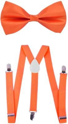 mr. willian Y- Back Suspenders for Men, Women(Orange)