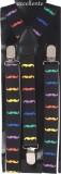 Eccellente Y- Back Suspenders for Men (B...