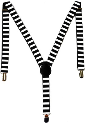 Urban Diseno Y- Back Suspenders for Men, Women