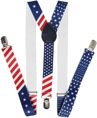 Fancy Steps Y- Back Suspenders for Men