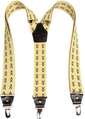 Orosilber Y- Back Suspenders for Men(Yellow)