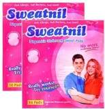 Sweatnil Twin Pack Self Stick Disposable...