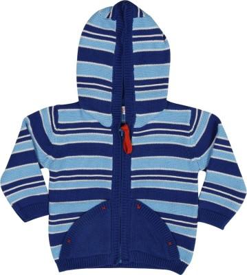 Mom & Me Full Sleeve Striped Baby Boy's Sweatshirt