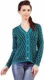 Pazaro Self Design V-neck Casual Women B...