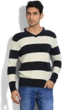 Flying Machine Striped Round Neck Casual...