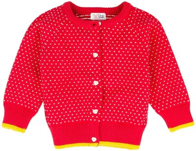 Mom & Me Printed Round Neck Casual Girl's Multicolor Sweater