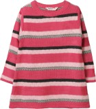 Beebay Striped Round Neck Casual Girls P...