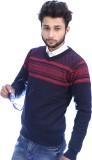 Bhagwan Knitwears Self Design V-neck Men...