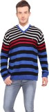 Mode Vetements Striped V-neck Casual Men...