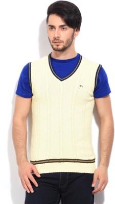 Arrow Sports Men's White Sweater