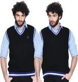 Sports 52 Wear Solid V-neck Casual Men B...