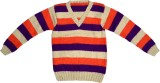 Nonch Le Striped V-neck Casual Boys Mult...