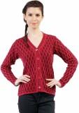 Pazaro Self Design V-neck Casual Women P...