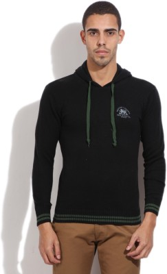 Pepe Jeans Solid Casual Men,s Black Sweater