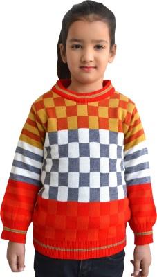 Shaun Solid Round Neck Casual Women's Multicolor Sweater