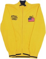 Gini & Jony Solid Casual Boys Yellow sweater best price on Flipkart @ Rs. 1469