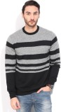 French Connection Striped Round Neck Cas...