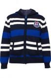 Prakum Striped V-neck Casual Girls Blue,...