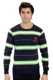 Parv Collections Striped Round Neck Casu...