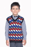 Shaun Striped V-neck Formal Boys Multico...