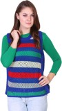 Miss Grace Striped Round Neck Casual Wom...