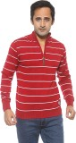Pepe Striped Turtle Neck Casual Men Red ...