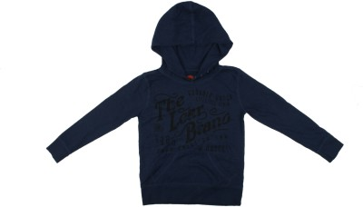 Parv Collections Full Sleeve Printed Boy's Sweatshirt