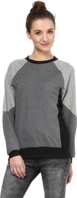 Hypernation Full Sleeve Solid Women,s Sweatshirt