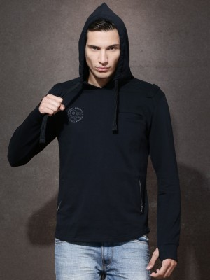 Roadster Full Sleeve Solid Men's Sweatshirt