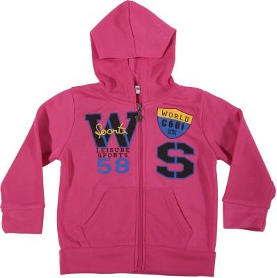 Zonko Style Full Sleeve Printed Girl's Sweatshirt