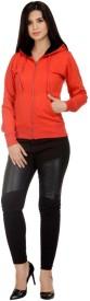 I Shop Full Sleeve Solid Women's Sweatshirt