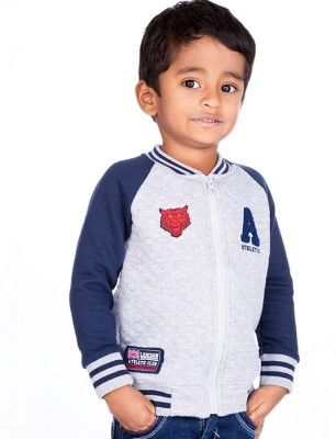 Ventra Full Sleeve Embroidered Boy's Sweatshirt