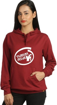 Campus Sutra Full Sleeve Printed Womens Sweatshirt