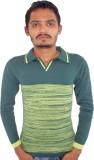 Igsmart Self Design Men's Polo Neck Ligh...