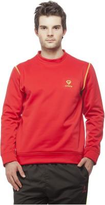 Gypsum Full Sleeve Solid Men's Sweatshirt