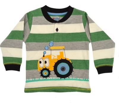 Pepito Full Sleeve Striped Baby Boy's Sweatshirt