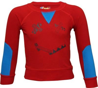 Tickles By Inmark Full Sleeve Printed Boy's Sweatshirt