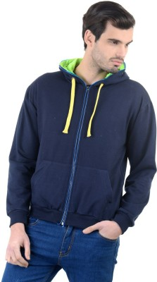 Enquotism Full Sleeve Solid Men's Sweatshirt
