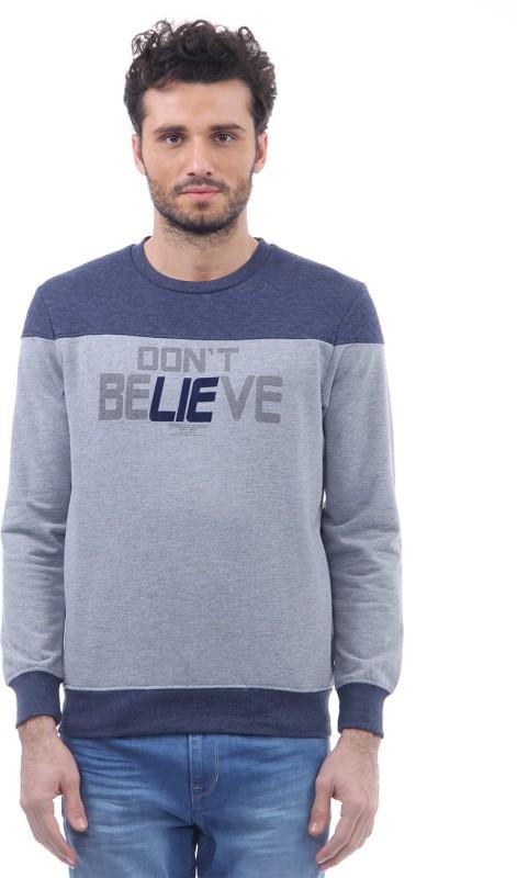 Monte Carlo Full Sleeve Printed Men's Sweatshirt