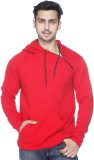 Demokrazy Full Sleeve Solid Men's Sweats...