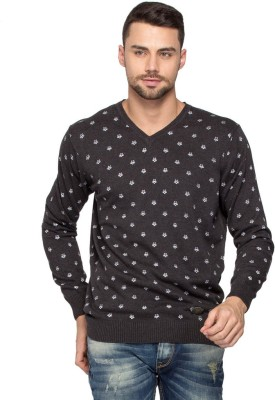 Spykar Full Sleeve Printed Men's Sweatshirt