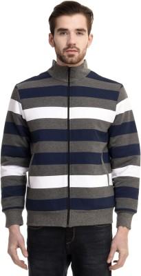 House Of Fett Full Sleeve Striped Men's Sweatshirt