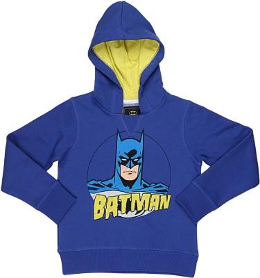 Batman Full Sleeve Printed Boy's Sweatshirt