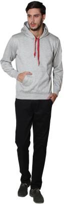 Lee Marc Full Sleeve Solid Men's Sweatshirt
