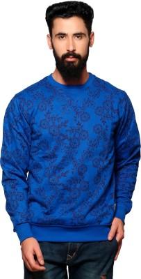 Nucode Full Sleeve Solid Men's Sweatshirt