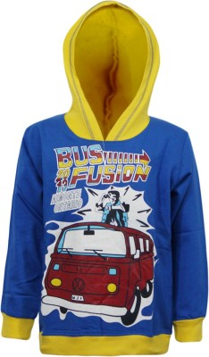 Kothari Full Sleeve Printed Boys Sweatshirt