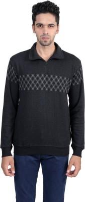 Gazelle Active Full Sleeve Self Design Men's Sweatshirt