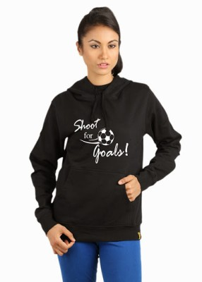 Campus Sutra Full Sleeve Solid Womens Sweatshirt