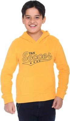 Kids-17 Full Sleeve Solid Boy's Sweatshirt