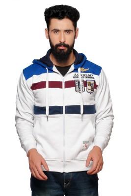Nucode Full Sleeve Striped Men's Sweatshirt